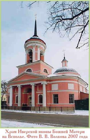 Иверский Храм на Всполье