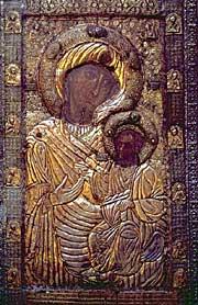 Икона Иверской иконы Божией Матери