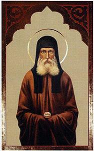Икона прп. Никодима просфорника