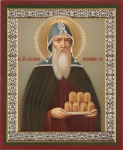 Икона прп. Спиридона просфорника