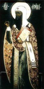 Икона прп Исайи чудотворца