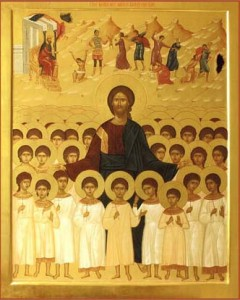 Икона вифлеемских младенцев-мучеников