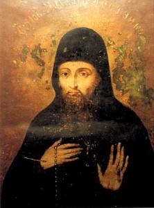 Икона прп. Захарии постника