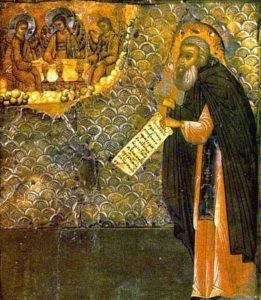 Икона  прп. Макария Калязинского
