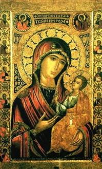 Иверская икона Божией Матери в Москве с 1648 года