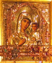 Чудотворная икона Иверской Божией Матери