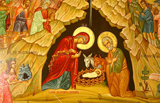 Христос рождается в эту тихую ночь