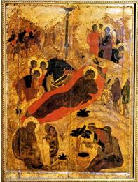 Рождество Христово Андрей Рублев