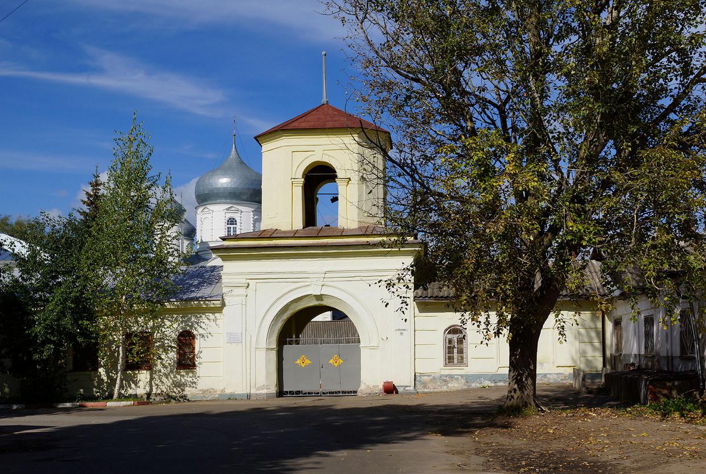 Покровский собор Зверина монастыря