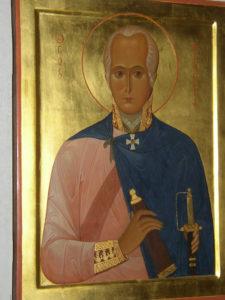 Икона св. праведного Феодора Ушакова
