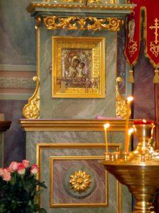 Храмовая икона Иверской Божией Матери