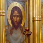 Икона Иисуса Христа у Царских врат Иверского Храма