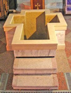 Купель Храма Иверской иконы Божией Матери на Всполье