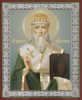 Икона свт. Нифонта, еп. Новгородского