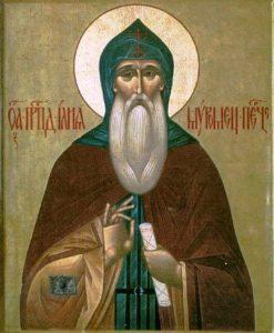 Икона прп. Илии Муромца