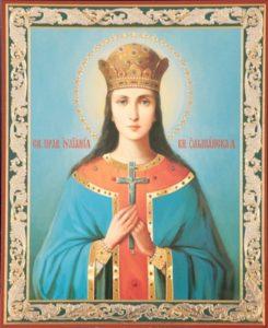 Икона Иулиании девы, княгини Ольшанской