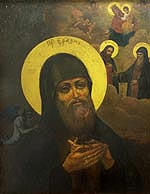 Икона прп. Еразма Печерского