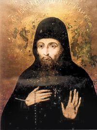 Икона прп. Авраамия трудолюбивого