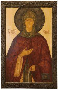 Икона прп. Софии Суздальской (в миру Соломония)