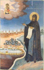 Икона прп. Феодосия Тотемского