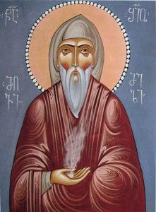 Икона прп. Шио Мгвимского