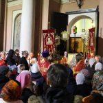 Крестный ход на Пасху 2017 в храме Иверской Б.М.