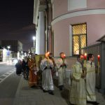 Крестный ход на Пасху 2017 в Иверском храме