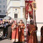 Крестный ход во вторник Пасхи