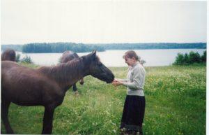 Иришка с конями
