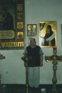 Сережа Ядыкин в храме