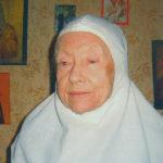 Монахиня Ксения, около 90 лет