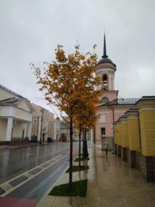 Иверский храм в октябре