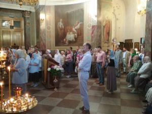 Праздник св.апостолов Петра и Павла 12/07/2018