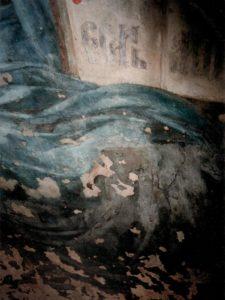 Иверский храм. Реставрация живописи. Ротонда. Купол до реставрации. Фото 3