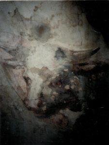 Иверский храм. Реставрация живописи. Ротонда. Купол до реставрации. Фото 4