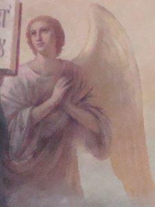 Иверский храм. Реставрация живописи. Ротонда. Купол после реставрации. Фото 4
