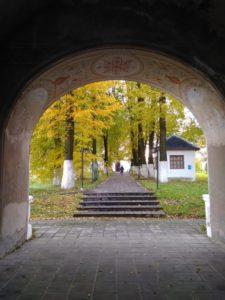Переславль. Троицкий Данилов монастырь. Арка ворот