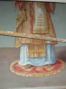 Иверский храм. Ротонда. Работа над созданием образов святителей Иоанна Златоуста и Василия Великого. Фото 20