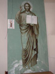 Иверский храм. Ротонда. Работа над созданием нового Запрестольного Образа Спасителя. Фото 31