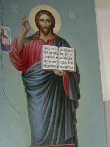 Иверский храм. Ротонда. Работа над созданием нового Запрестольного Образа Спасителя. Фото 32