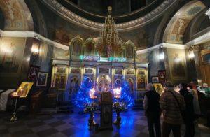Иверский храм. Рождество 2020 г. Фото 02