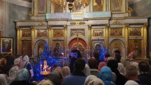 Иверский храм. Рождество 2020 г. Фото 03